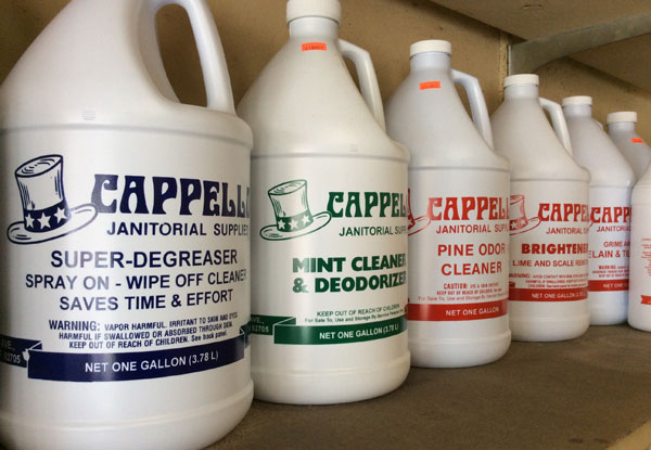 Cappello Janitorial Supplies Gallery Orange County Ca