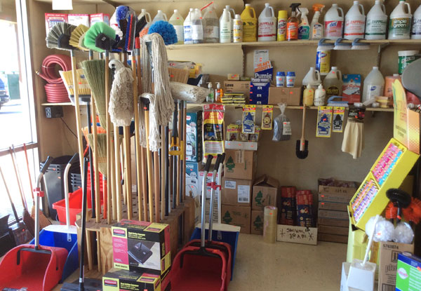 Soaps, Mops, Brooms & Cleaners