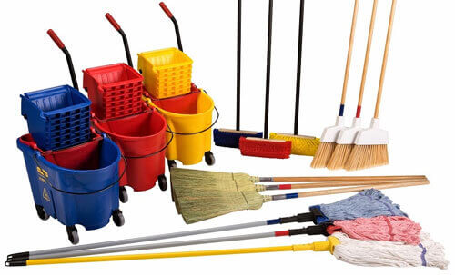 Soaps, Mops & Brooms Supplier
